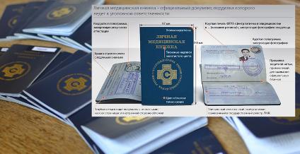 Бланк медицинской книжки купить в Москве Нагатинский затон официально